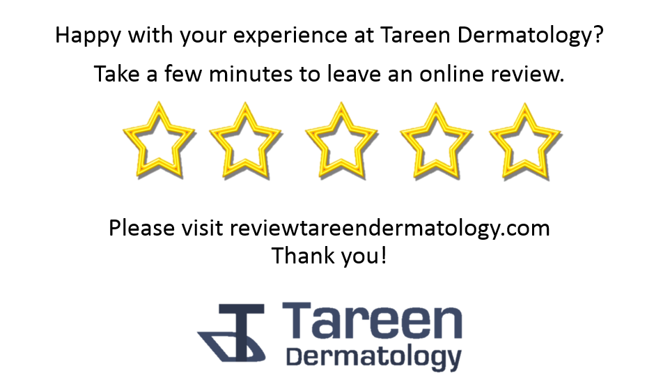 Leave a review for Tareen Dermatology